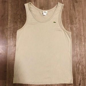 Lacoste Summer Tank Top - Small Size 4